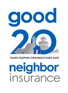 Good Neighbor Insurance 20 year anniversary